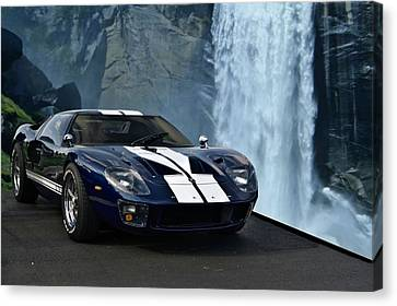 1966 Ford Gt 40 Canvas Print
