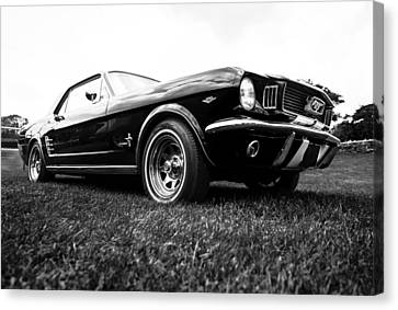 1966 Ford Mustang 289 Canvas Print by motography aka Phil Clark