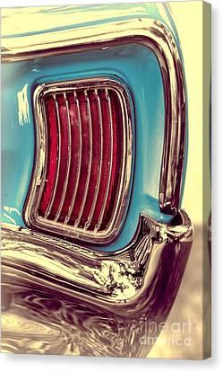 1966 Pontiac Tempest Taillight Canvas Print by Henry Kowalski