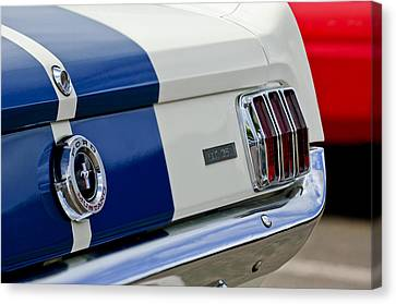 1966 Shelby Gt 350 Taillight Canvas Print by Jill Reger