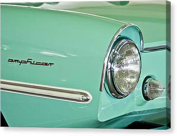 1967 Amphicar Model 770 Head Light Canvas Print by Jill Reger