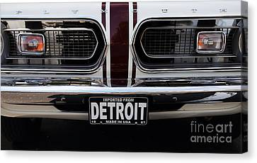 1967 Barracuda Canvas Print by Dennis Hedberg