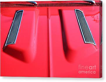 1967 Chevrolet Chevelle Ss Hotrod 5d26457 Canvas Print