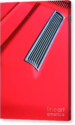 1967 Chevrolet Chevelle Ss Hotrod 5d26459 Canvas Print