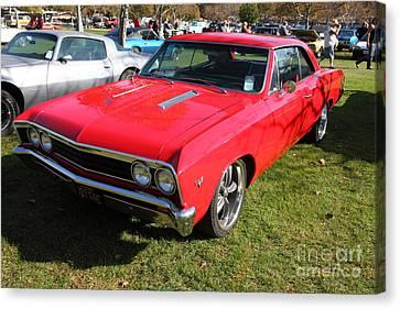 1967 Chevrolet Chevelle Ss Hotrod 5d26461 Canvas Print