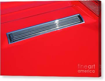 1967 Chevrolet Chevelle Ss Hotrod 5d26463 Canvas Print