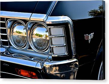 1967 Chevy Impala Front Detail Canvas Print