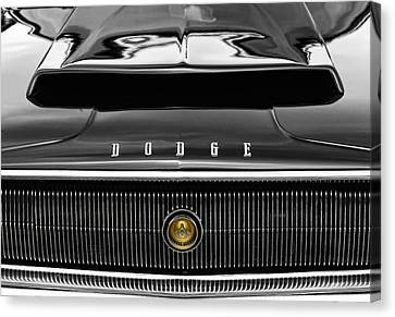 1967 Dodge Charger Canvas Print by Gordon Dean II