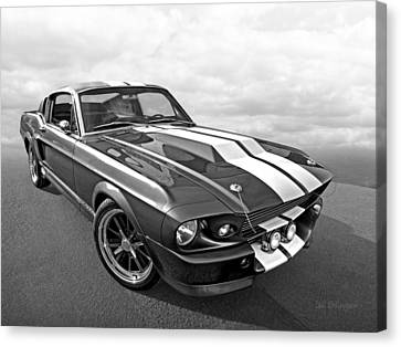 1967 Eleanor In The Clouds Canvas Print by Gill Billington