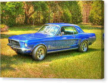 1967 Ford Mustang Canvas Print