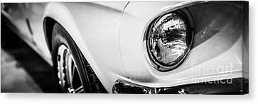 1967 Ford Mustang Shelby Gt350 Panorama Photo Canvas Print