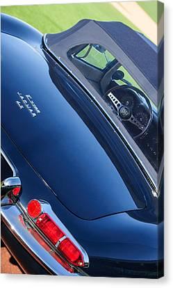 1967 Jaguar E-type Roadster Taillight -1228c Canvas Print