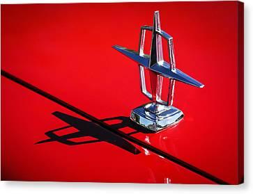 1967 Lincoln Continental Hood Ornament -1204c Canvas Print