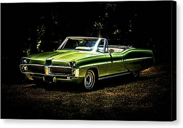 1967 Pontiac Bonneville Canvas Print by motography aka Phil Clark