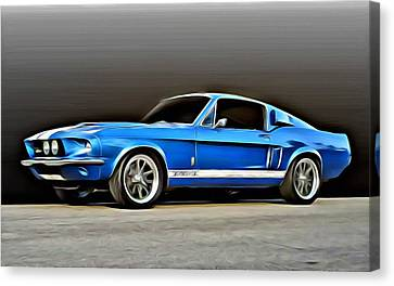 1967 Shelby Mustang Gt500 Canvas Print