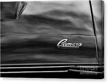 1968 Camaro Monochrome Canvas Print