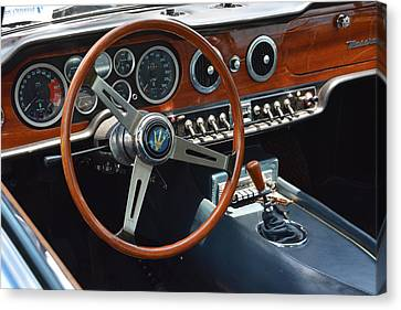 1968 Maserati Interior Canvas Print