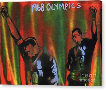 1968 Olympics Canvas Print