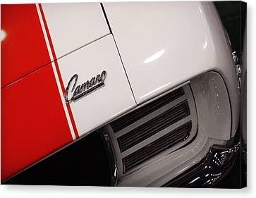 1969 Chevrolet Camaro Ss Indianapolis 500 Pace Car Canvas Print by Gordon Dean II