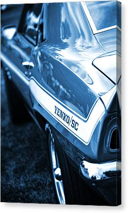 1969 Chevrolet Camaro Yenko Sc 427 Canvas Print by Gordon Dean II