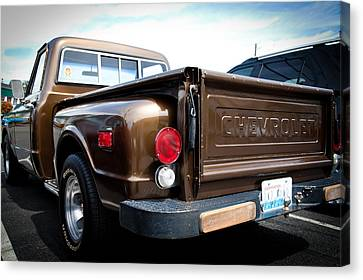 1969 Chevrolet Pickup II Canvas Print by David Patterson