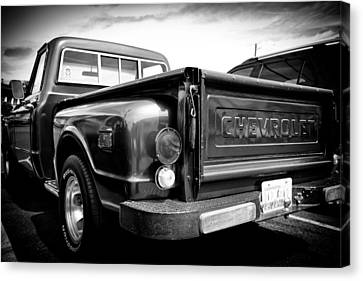 1969 Chevrolet Pickup IIi Canvas Print by David Patterson