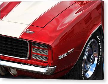 1969 Chevy Camaro Rs Canvas Print by Gordon Dean II