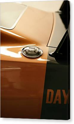 1969 Dodge Charger Daytona - Fuel Day Canvas Print by Gordon Dean II