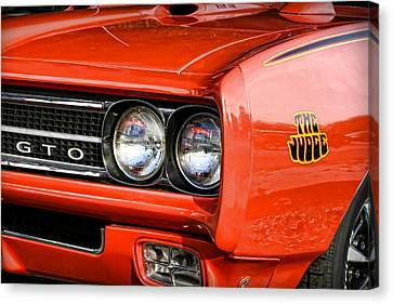 1969 Pontiac Gto The Judge Canvas Print by Gordon Dean II