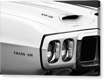 1969 Pontiac Trans Am  Canvas Print by Jill Reger