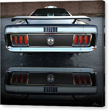 1970 Ford Mustang Mach 1 Canvas Print by Gordon Dean II