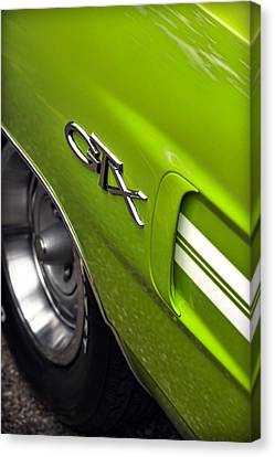 1970 Plymouth Gtx Canvas Print by Gordon Dean II