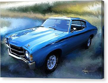 1971 Chevy Chevelle Canvas Print by Robert Smith