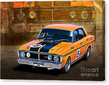 1971 Ford Falcon Xy Gt Canvas Print