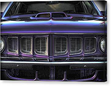 1971 Plymouth 'cuda 440 Canvas Print by Gordon Dean II