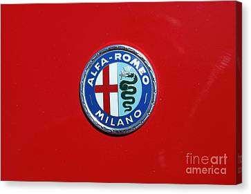 1972 Alfa Romeo Junior 1600 5d23147 Canvas Print by Wingsdomain Art and Photography