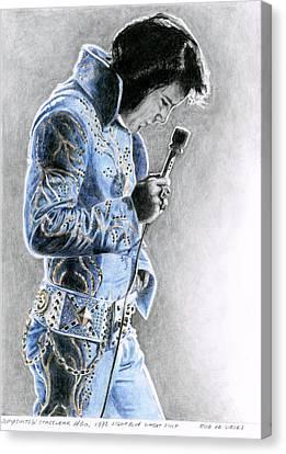 1972 Light Blue Wheat Suit Canvas Print by Rob De Vries