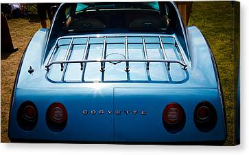 1974 Chevy Corvette Canvas Print by David Patterson