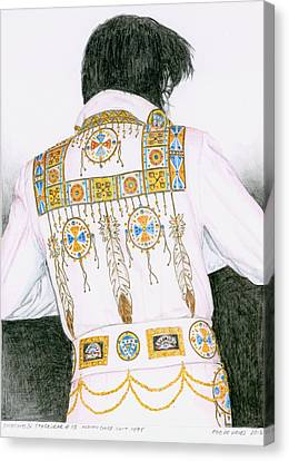 1975 Indian Chief Suit Canvas Print by Rob De Vries