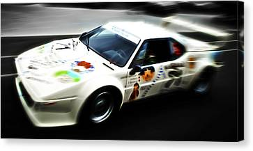 1980 Bmw M1 Procar Canvas Print by Phil 'motography' Clark