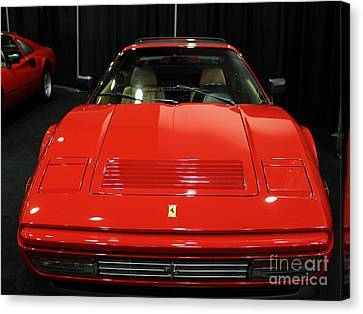 1987 Ferrari 328 Gts - 5d19811 Canvas Print by Wingsdomain Art and Photography