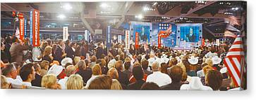 1996 Republican National Convention Canvas Print by Panoramic Images