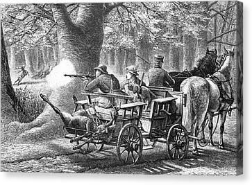 19th Century Game Drive Canvas Print by Bildagentur-online/tschanz
