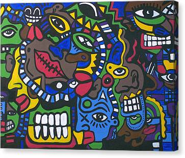 1st And 4most Canvas Print by Kamoni Khem