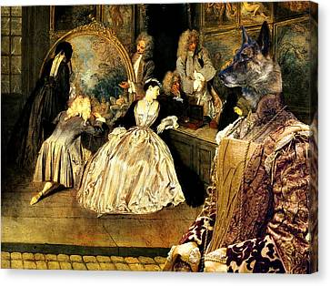 Hollandse Herdershond - Dutch Shepherd Art Canvas Print Canvas Print