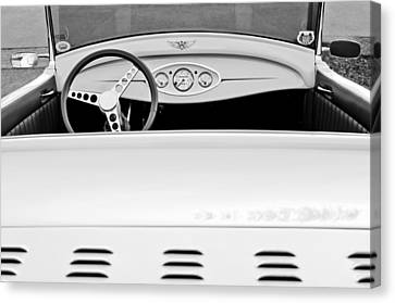 1929 Ford Model A Roadster Canvas Print by Jill Reger