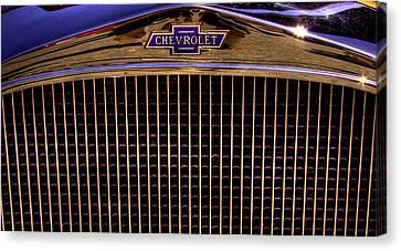 Chevy Coupe Canvas Print - 1932 Chevy Coupe by David Patterson