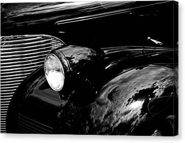 Chevy Coupe Canvas Print - 1939 Chevy Coupe by David Patterson