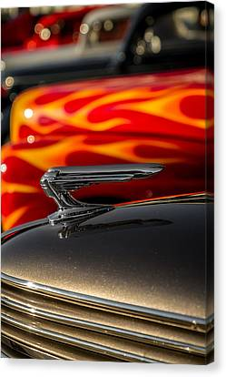 1939 Graham Coupe Hood Ornament Canvas Print