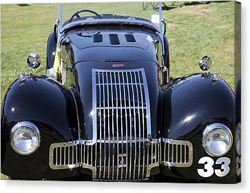 1947 Allard K1 Roadster Canvas Print
